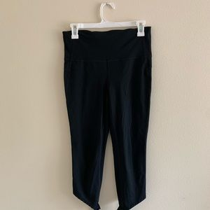 Black Leggings with Tie Detail around ankles